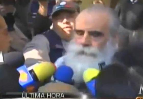 Primeras palabras Diego Fernández de Cevallos tras su liberaciónn