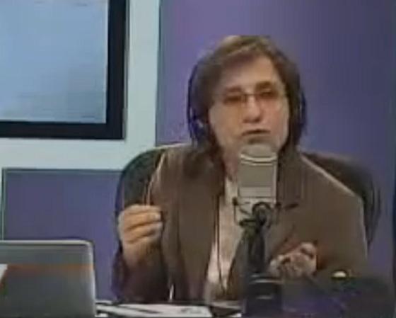 Carmen Aristegui sale de MVS por orden de Felipe Calderón