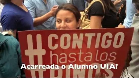 Peña Nieto en la Ibero - ¡La Historia! Abuchado y huida.